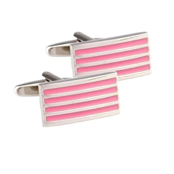 CUFFLINKS pink