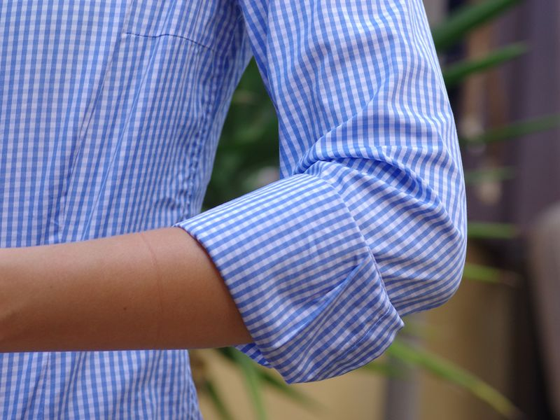 rolled sleeves