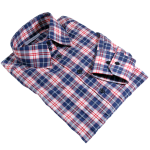 women's checkered dress shirt
