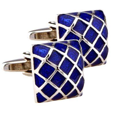 Cufflinks blue colour