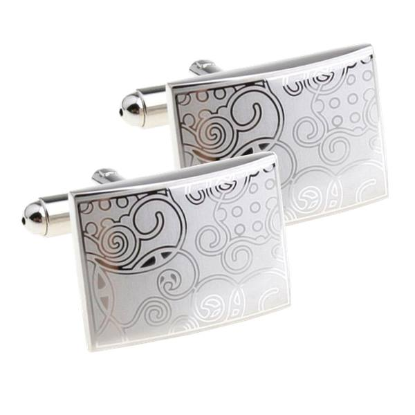 cufflinks silver colour
