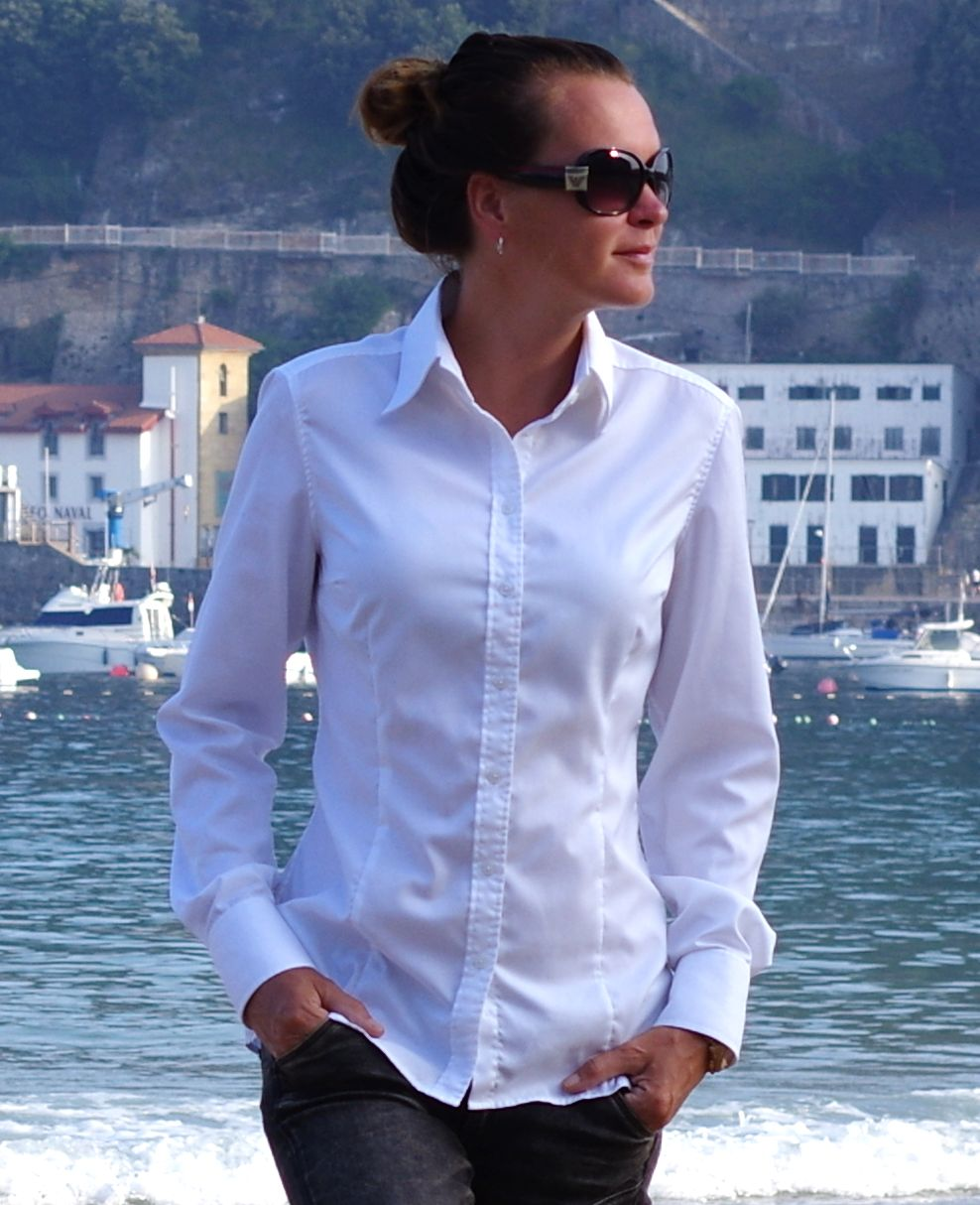 ella hopfeldt white dress shirt