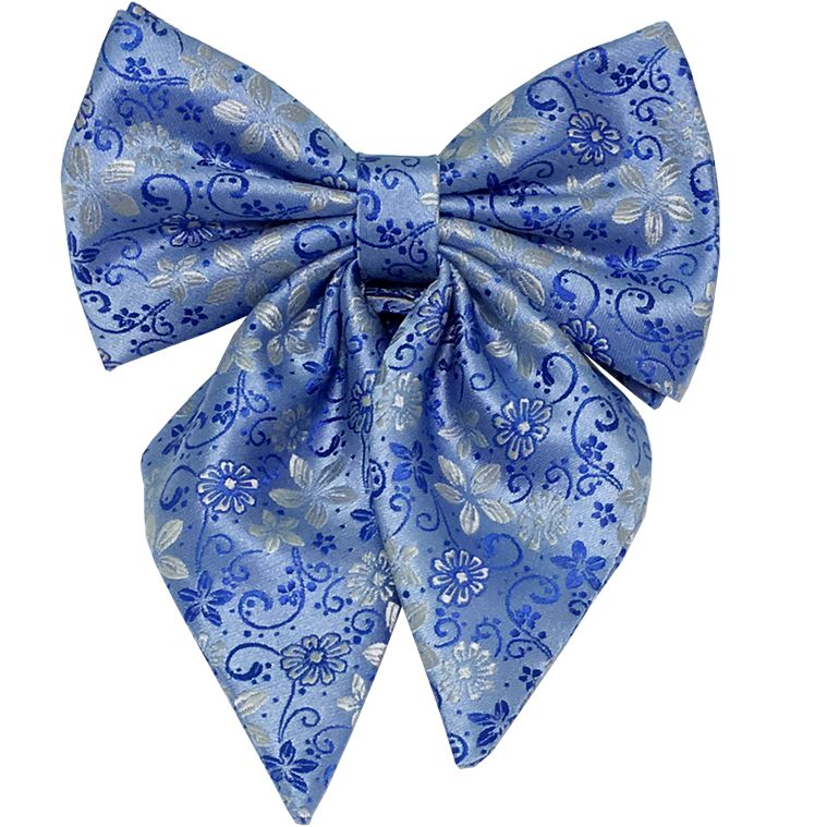 flowered bow tie