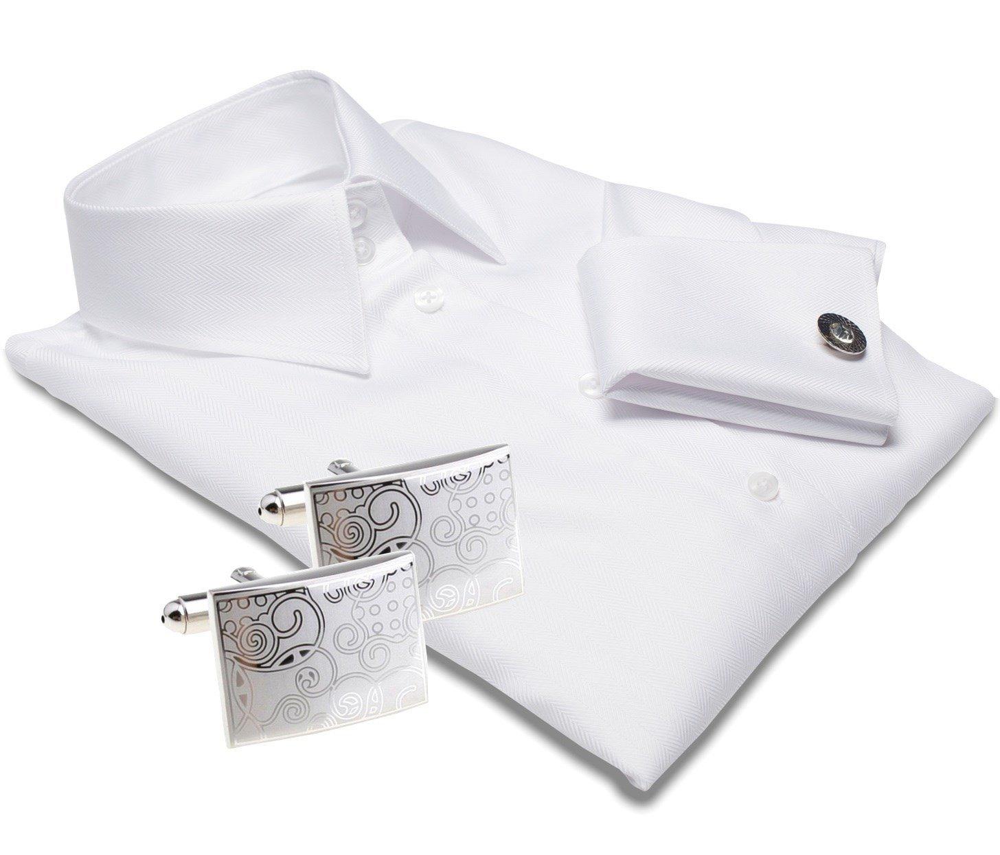 Luxurious white shirt for women