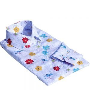 shirt with flowers