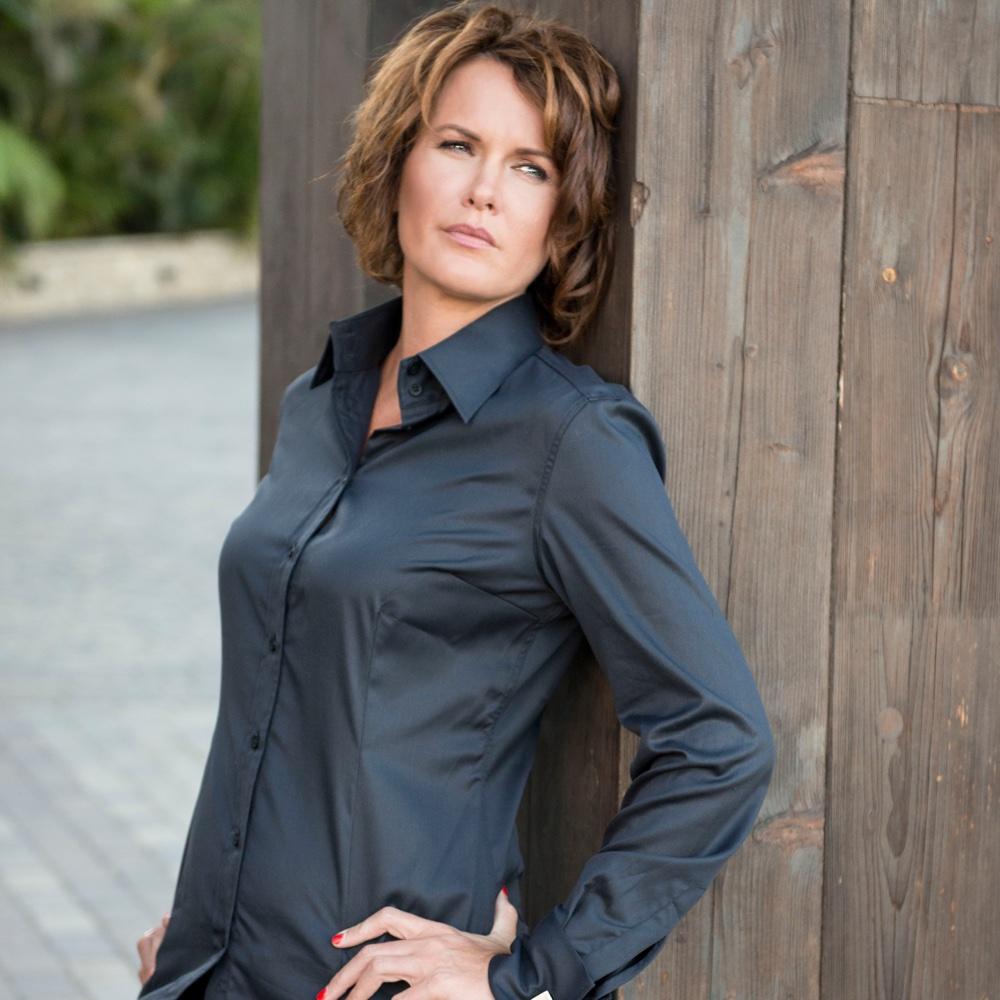 Black shirt for women