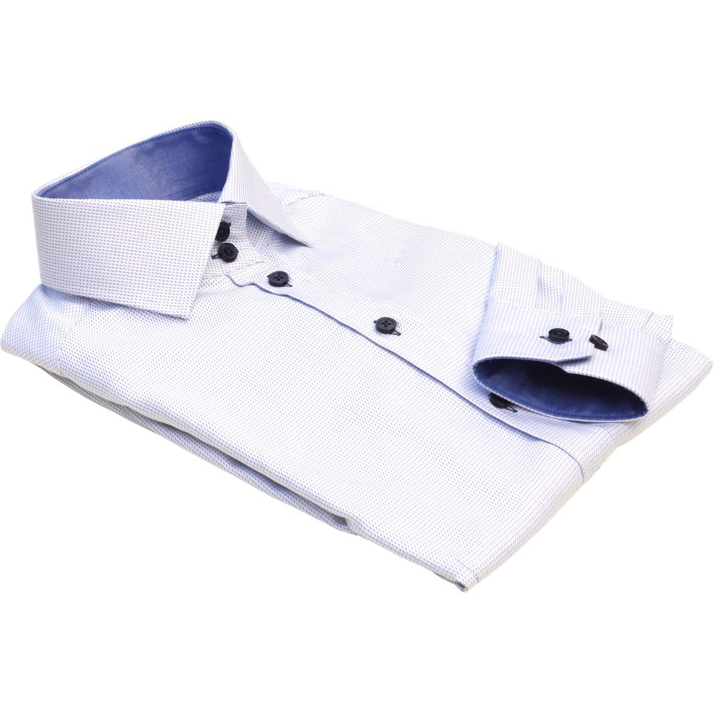 MILAN dress shirt with blue details