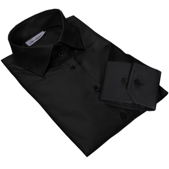 NEW! BONN black dress shirt