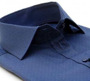 LYON dark blue dress shirt