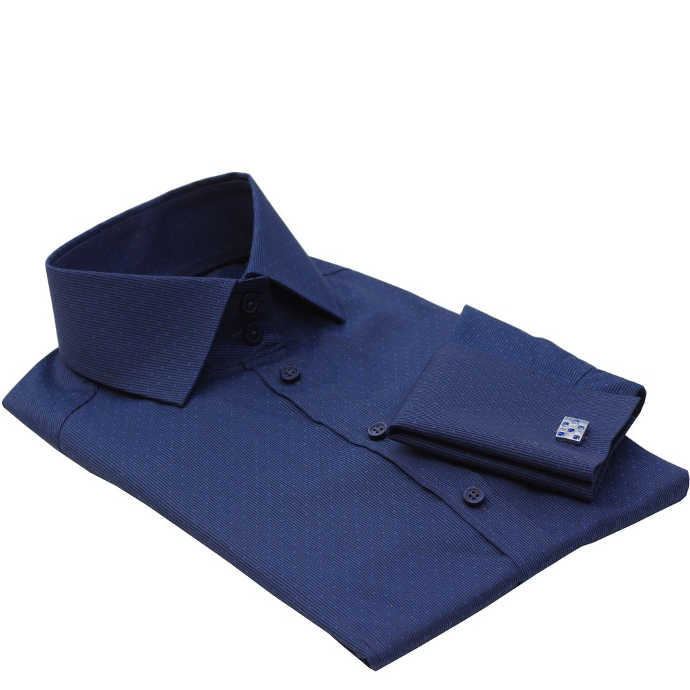 BARCELONA dark blue dress shirt