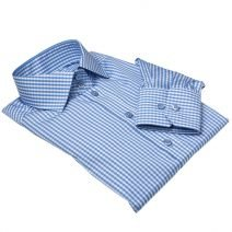 hellblaue gingham bluse, light blue gingham, gingham bluse