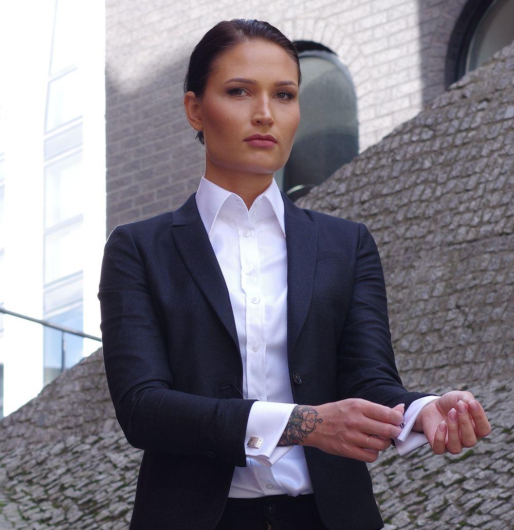 Womens Luxury White Shirt Dress Shirts For Women Ella Hopfeldt