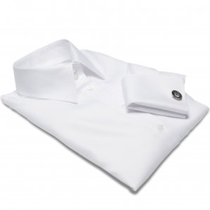 MUNICH white dress shirt + CUFFLINKS